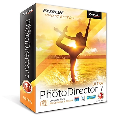 CyberLink – PhotoDirector 7 Ultra (MAC), téléchargement