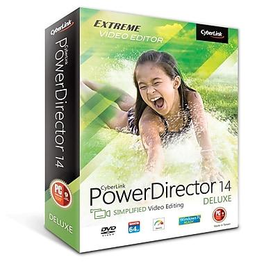CyberLink – Montage vidéo PowerDirector 14 de luxe, téléchargement