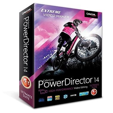CyberLink – Montage vidéo PowerDirector 14 Ultimate Suite, téléchargement