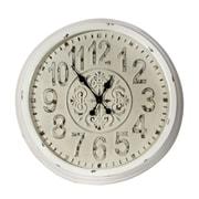 Home Details – Horloge murale, 27,5 po de diamètre, noir