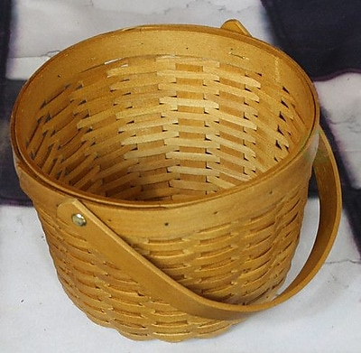 Quickway Imports Wood Chip Apple Picking Basket