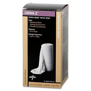 Medline Zinc Unna Boot Bandages, 10 yds L x 4