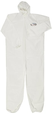 KleenGuard® A40 Liquid and Particle Protective Coverall W/Hood, White, X-Large