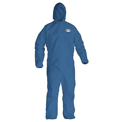 KleenGuard® A20 Lightweight Breathable Particle Protective Coverall, Blue, Large