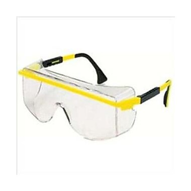 Uvex™ Astrospec OTG® 3001 ANSI Z87.1 Eyewear, Clear/Patriot Red/White/Blue