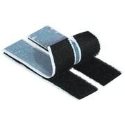 """Tape Logic® Precut Strips, 1"""" x 3"""", Black, 200/Case"""