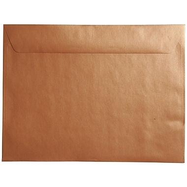 JAM Paper® 9 x 12 Booklet Envelopes, Stardream Metallic Copper, 1000/carton (86416B)