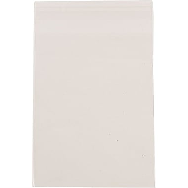 JAM Paper® Cello Sleeves with Self Adhesive Closure, 5 3/4 x 5 3/4, Clear, 1000/carton (5.75X5.75CELLOB)