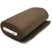 "Plush Felt, Chocolate, 45"" Wide 10yd Bolt-"