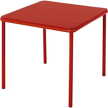 Cosco Kid's Vinyl Top Table Red, RED
