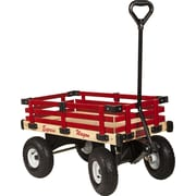 Millside Industries Hardwood Kids Wagon Hardwood Racks