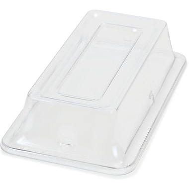 Carlisle 44462C07, Cover for Third Size Food Pan, Clear
