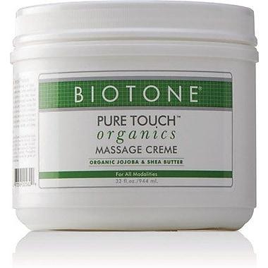 Biotone Pure Touch Organics Massage Creme, 32 oz.