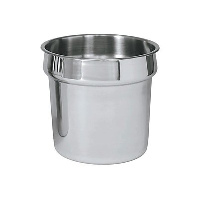 Update International IS-110, 11 qt Stainless Steel Inset Pan