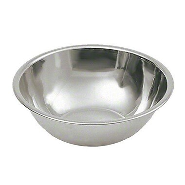 Update International 8 qt Stainless Steel Mixing Bowl