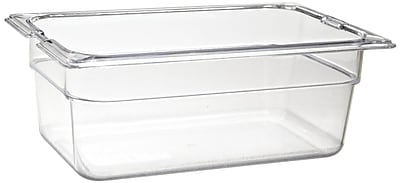 Carlisle 1028107, One-Quarter Size PC Food Pans - 4'' (2.8 qt)