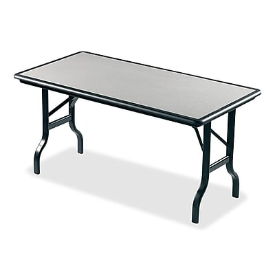 Iceberg 5' Indestruc-Tables™ Folding Table, Granite