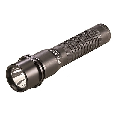 Strion® 1 3.75V 2000 mA-hrs Rechargeable Lithium Ion Black Anodized Aluminum Flashlight, C4 LED