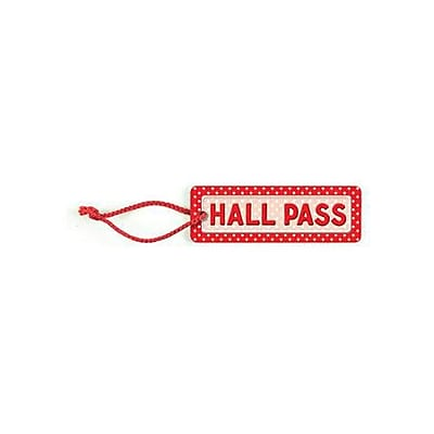 Teacher Created Resources® Hall Pass, Polka Dots