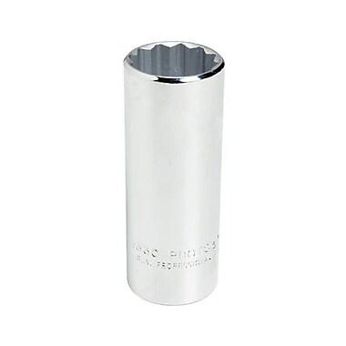 Proto® Torqueplus™ Deep Length Ball Locking Box Tip Hand Socket, 1/2 in Square Drive, 1 1/4 in