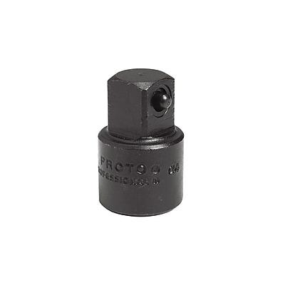 Proto® Plain Pin Locking Impact Socket Adapter, 1/2 in Female x 3/8 in Male, 1 7/16 in (L)