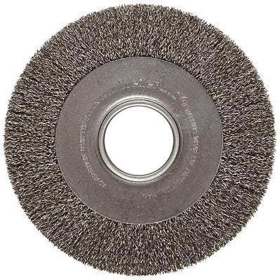 Weiler® Trulock™ Medium-Face Crimped Wire Wheels,