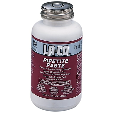 LA-CO PIPETITE-PASTE Pipe Thread Compound 8 oz.