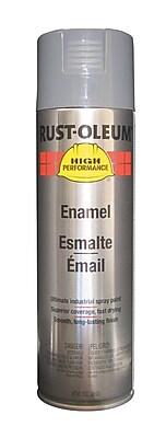 HIGH PERFORMANCE® 15 oz Aerosol Can Enamel, Acrylic, Dark Machine Gray, 14 sq ft Coverage
