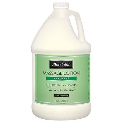 Bon Vital'® Naturale Unscented Massage Lotions, 1 Gallon