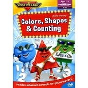 Rock 'N Learn Educational Dvd, Colours, Shapes And Counting (RL-944)