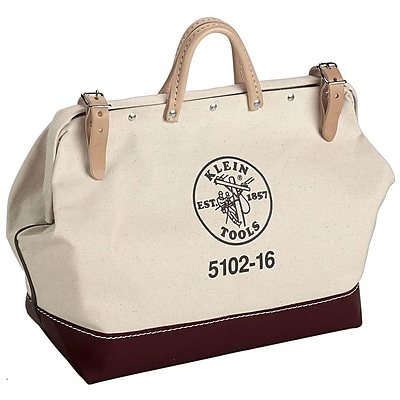 Klein Tools® Canvas Tool Bag, 1 Compartment, 12 in (L) x 10 in (H)