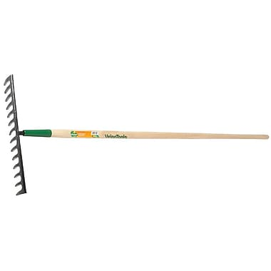 UnionTools® Forged Steel Tine Level Rake, 15 1/4 in (W) x 3 1/4 in (H) Blade, 66 5/8 in (L)