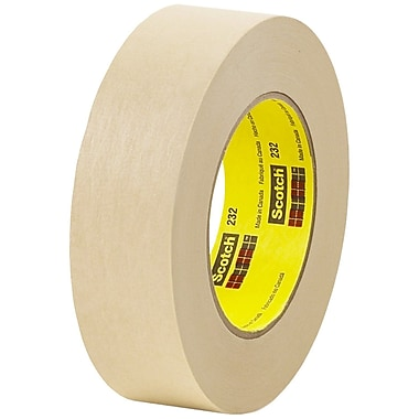 3M™ #232 Scotch® High Performance Masking Tape, 1-1/2