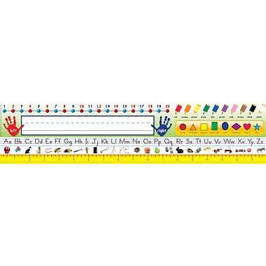 Eureka – Porte-noms pour école maternelle et première année, école primaire, 36/paquet (EU-833180)