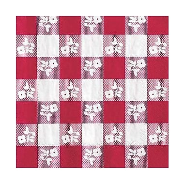 Creative Converting Red Gingham 2-Ply Luncheon Napkins, 18/Pack