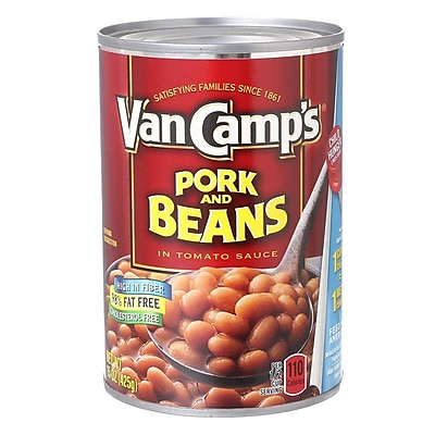 Van Camp s Pork and Beans 15 Oz, 24/Pack 1057590