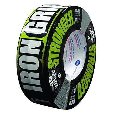 Intertape® Iron Grip™ 17 mil Super Tough Aggressive Duct Tape, 1.88