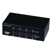 Monoprice® 250MHz Matrix Switcher 2x4 VGA/SVGA Splitter/Amplifier/Multiplier, Black