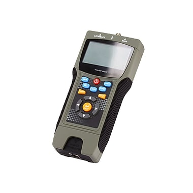 Monoprice® RJ-45/RJ-11/12 Professional Coaxial Multifunction Tester With LCD Display