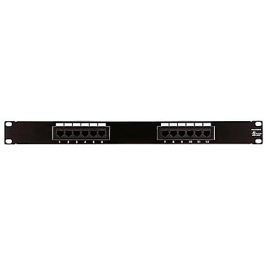 Monoprice® 12 Ports Cat5 110Type Enhanced Patch Panel