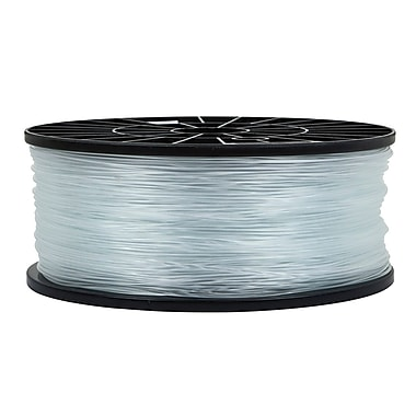 Monoprice® 1.75mm 1kg ABS Premium 3D Printer Filament Spool, Crystal Clear