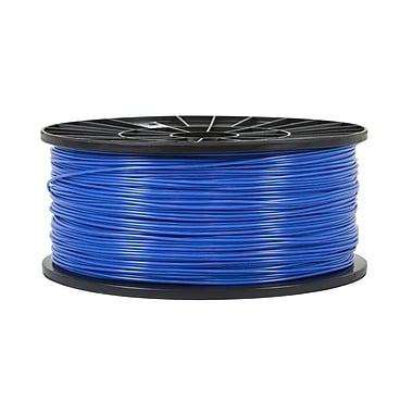 Monoprice® 1.75mm 1kg PLA Premium 3D Printer Filament Spool, Blue