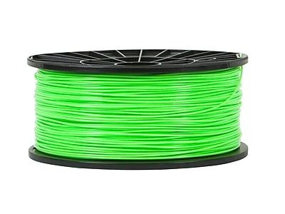Monoprice® 1.75mm 1kg PLA Premium 3D Printer Filament Spool, Bright Green