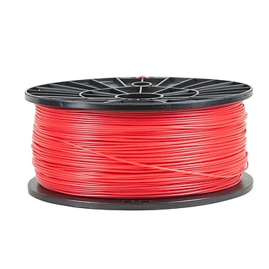 Monoprice® 1.75mm 1kg PLA Premium 3D Printer Filament Spool, Red