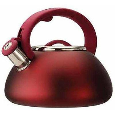 Primula® Avalon 2.5 qt. Whistling Kettle, Matte Red