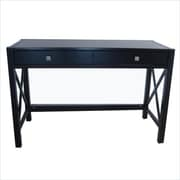 Linon Anna Standard Writing Desk, Antique Black (86105C124-01KDU)