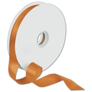 "7/8"" x 100 yds. Dyna Satin Ribbon, Tangerine"