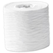 "1 1/2"" x 25 yds. Crinkle Paper Ribbon, White"
