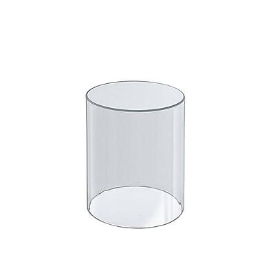 """Azar® 8""""(H) x 4""""(Dia) Acrylic Cylinder"""