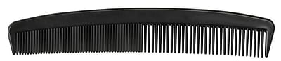 Medline Plastic Combs - Black - 5